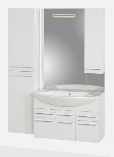 Мебель для ванной Gemelli (Джемелли) ALFA 90
