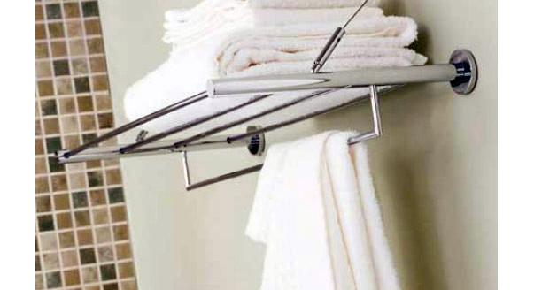 Настенные полотенцедержатели в ванную