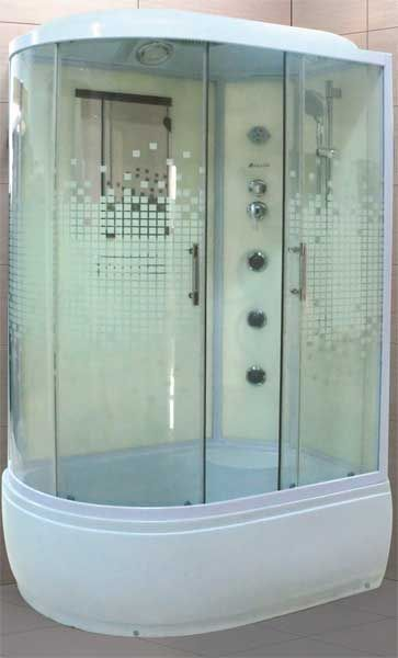Душевые кабины с ванной 170х85