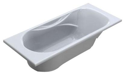 Ванна чугунная Roca MALIBU - прямоугольная