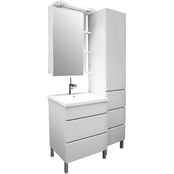 Мебель для ванной комнаты Aquanet Лаконика 85
