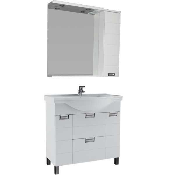 Комплект мебели для ванной комнаты Aquanet Сити 80