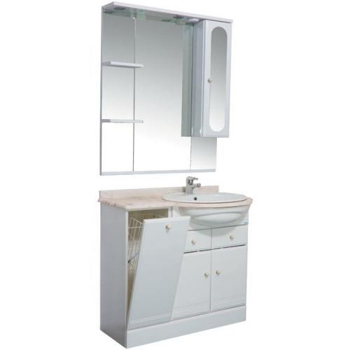 Напольная мебель для ванной комнаты Aquanet Марсель ТМ 80
