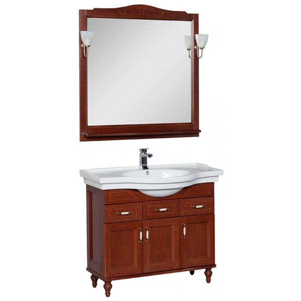 Комплект мебели для ванной Aquanet Premium Амелия Н 100 (на ножках)