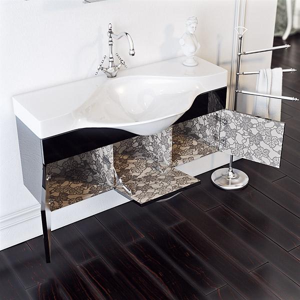 Комплект мебели для ванной Aqwella BROADWAY 110
