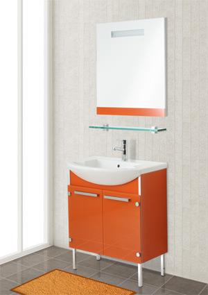 Мебель для ванной Gemelli (Джемелли) GLASS 75