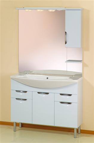 Мебель для ванной Gemelli Cosmo Light 105