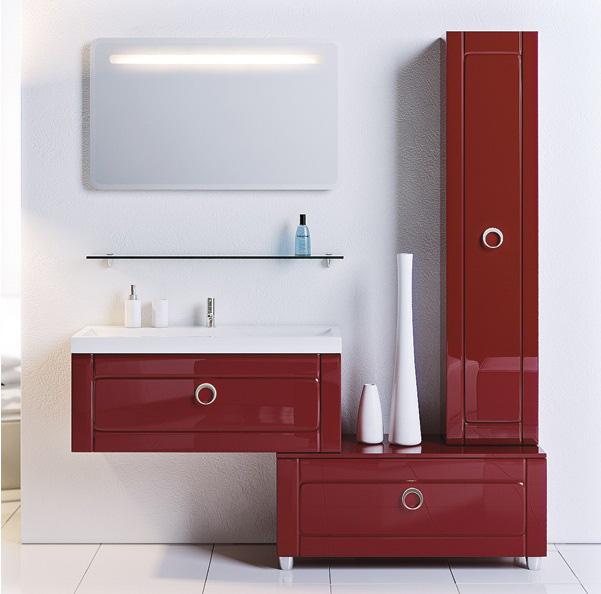 Комплект мебели для ванной ИНФИНИТИ. Aqwella.
