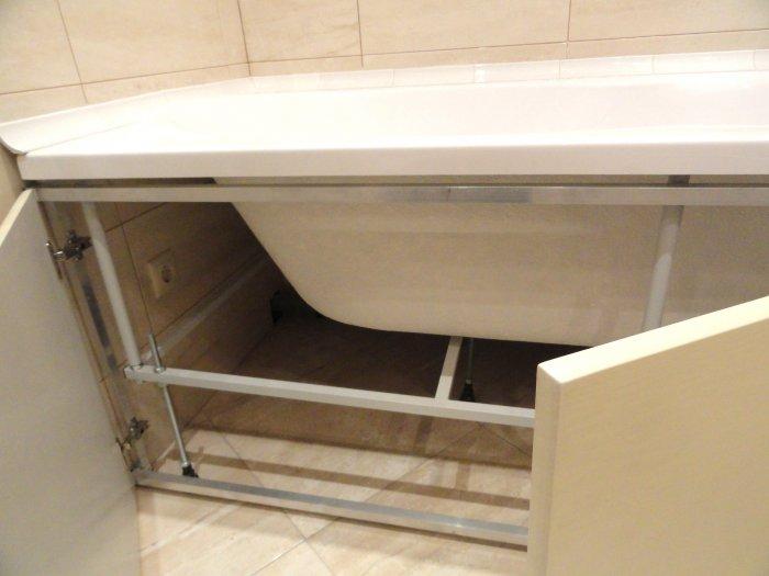 металлический каркас для акриловой ванны