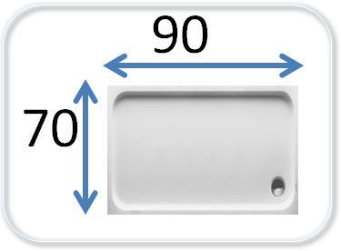 душевые кабины 70 на 90