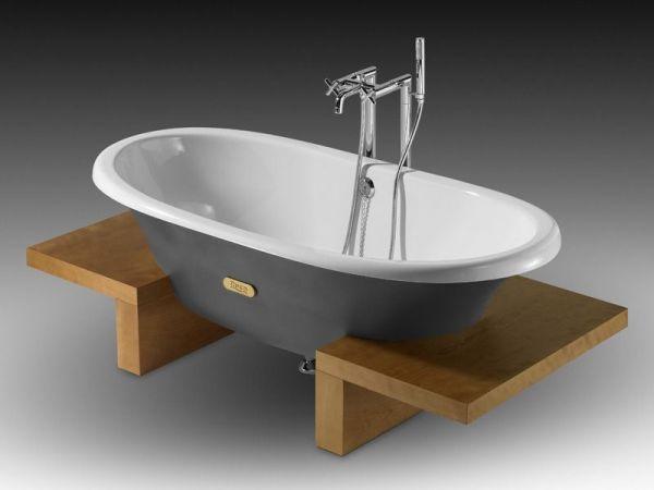 Чугунная ванна Roca Newcast Classic без ножек