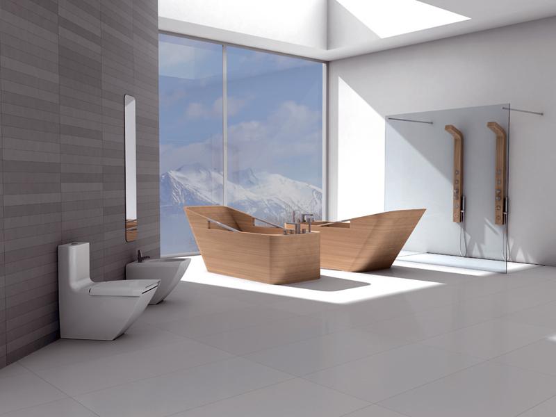 Ванная комната в стиле новая волна