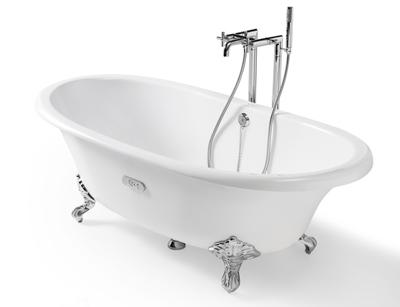 Ванна чугунная Newcast 170x85 с ножками