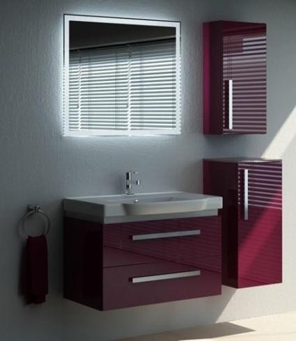 Мебель для ванной Verona Lusso 80